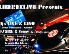 Dj´s Live&kino